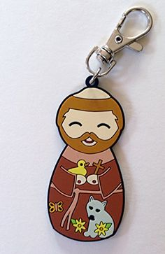 Saint Francis of Assisi Charm Clip