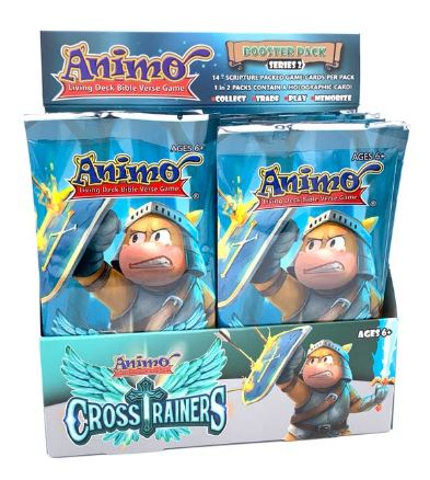 Animo Cross Trainers Booster Box (24 PK)