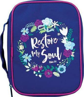 Restore My Soul Bible Cover (Large)