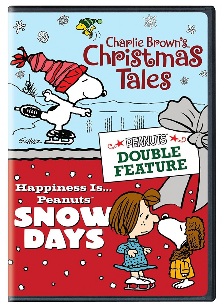 Charlie Browns Christmas Tales.Peanuts Double Feature Christmas Tales Snow Days