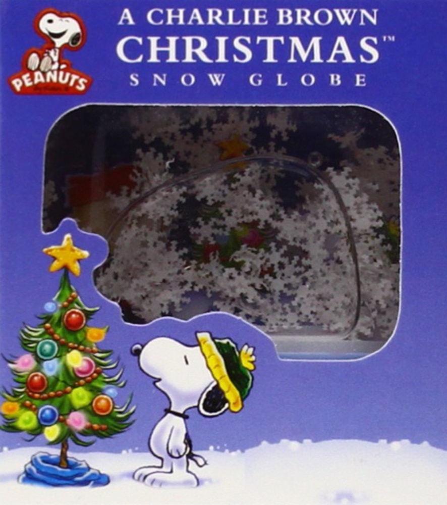 A Charlie Brown Christmas Book.A Charlie Brown Christmas Snow Globe Mega Mini Kits