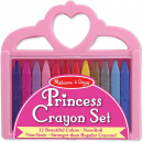 Princess Crayon Set - 12 Colors