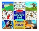 Melissa & Doug Bible Stories Reusable Sticker Pad