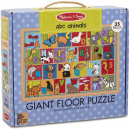 Giant Floor Puzzle: ABC Animals (35 Piece)