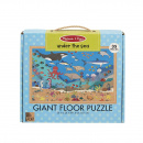Melissa & Doug Natural Play Giant Floor Puzzle: Under The Sea