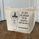 "John Paul II Kids Coloring Tote Bag: ""Do not be afraid to be saints"""