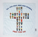 Holy Men and Women Pray for Us Soft Lovey Blanket