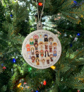 Catholic Saints Christmas Ornament