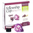 Communion Fellowship Pre-filled Juice/Wafer Cup (Box of 6)
