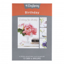 Boxed Cards: Birthday (Lustrous)