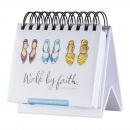 DaySpring Flip Calendar: Walk by Faith