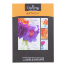 Boxed Cards: Birthday (Flowers of Joy)