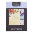 Boxed Cards: Sympathy (Watercolor Flowers)