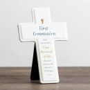 First Communion Decorative Cross (I Am The Bread Of Life)