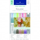 Faber-Castell Gelatos Metallic Pigment Sticks (15pk)