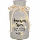 Amazing Grace Lighted Vase
