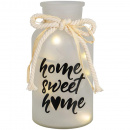 Home Sweet Home Lighted Vase