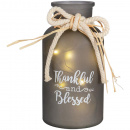 Thankful Lighted Vase