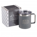 I Can Do All Things Camp Style Stainless Steel Mug