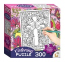 Cross: Coloring Puzzle