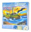 Puzzle: Sunset Cove Lighthouse (1,000 Piece)