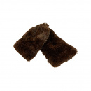 Plush Neck Wrap: Brown (Adult)