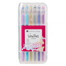 Gel Pen Set: 12 Pack Assorted Colors