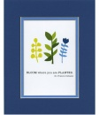 Bloom Where You Are Planted, St. Francis DeSales Matted Print