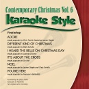 Karaoke Style: Contemporary Christmas, Vol. 6 image