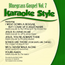 Karaoke Style: Bluegrass Gospel Vol. 7