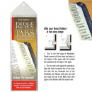 Verse Finders Bible Index Tabs (Gold)