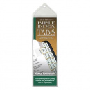 Verse Finders Bible Index Tabs (Slim Line, Gold)
