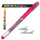 Highlighter Accu Gel Bible Hi Glider Pink image
