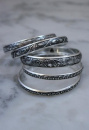 Silver Plated Bangle Set of 5