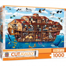 Cut-Away: Noah's Ark Extra Large 1000 Piece Puzzle