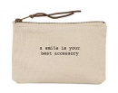 A Smile... Canvas Pouch