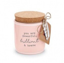 Powerful, Brilliant & Brave Pazitive Candle