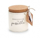 Everything Is Possible Pazitive Candle