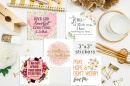 "Set of 18 - 3"" Inspirational Saint Stickers"
