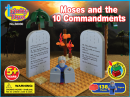 Trinity Toyz Moses and the 10 Commandments Building Block Set