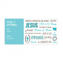 Offering Envelope: Names of Jesus (Pack of 100)