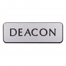 Badge: Deacon Magnet (Silver)