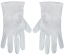Usher Gloves: White: X-Large