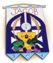 1st Communion Banner: Gates
