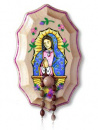 Our Lady of Guadalupe Wooden Rosary Holder