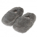 Warmies Slippers: Gray