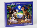 A Child is Born Christmas Jigsaw Puzzle (550 Piece)