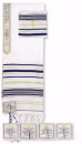 Prayer Shawl: Dark Blue Acrylic | 22 inches