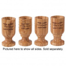 Wine Cup of The New Covenant: Olivewood (1 Cup)