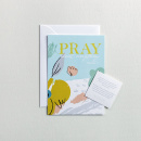 Pray About Everything Encouragement Art in 5x7